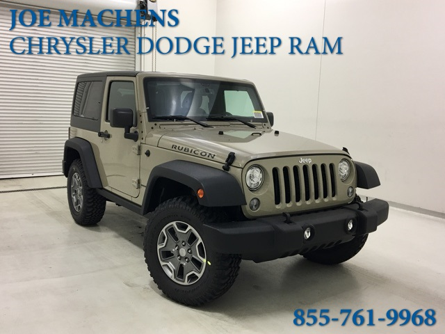 New 2018 Jeep Wrangler Jk Rubicon 2d Sport Utility In