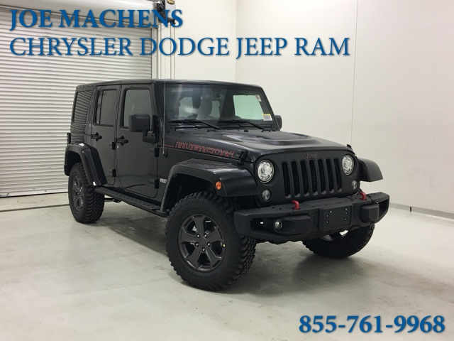 New 2018 JEEP Wrangler Unlimited Unlimited Rubicon Recon
